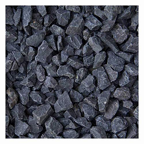 zierkiesundsplitt Basalt Ziersplitt 1000kg Big Bag 2-5mm, 5-8mm, 8-11mm, 8-16mm, 16-32mm (8-11mm)