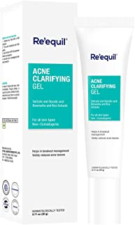 RE' EQUIL Acne Clarifying Gel for Active Acne Pimple Treatment - 20 g
