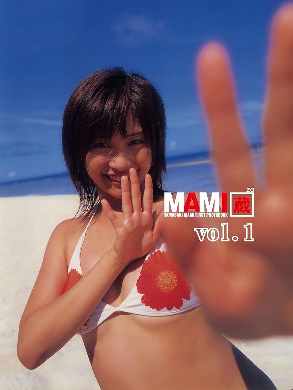 ホイッスル岩プレーヤー山崎真実1st.写真集 MAMI蔵 vol.1