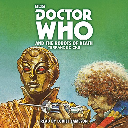 Doctor Who and the Robots of Death audiobook cover art