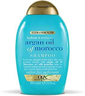 OGX, Shampoo, Extra Strength Hydrate & Revive+ Argan Oil of Morocco, 385ml