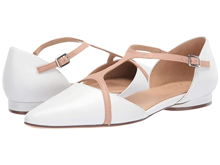 Naturalizer  Hana (White Leather) Womens Shoes