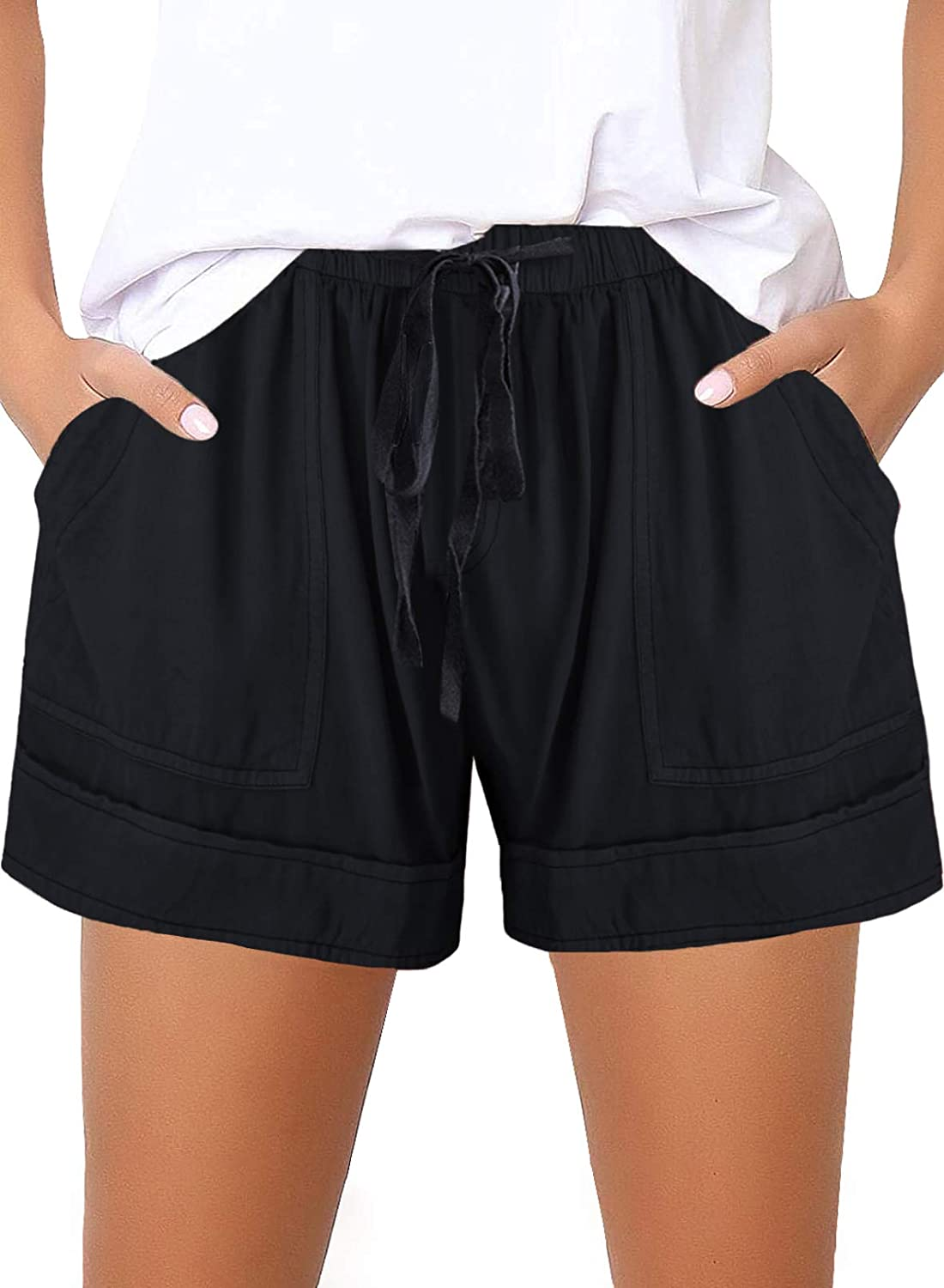 Asvivid Girls Casual Drawstring Elastic Shorts Summer Waist Dallas Mall Limited Special Price with