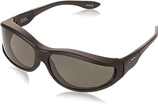 نظارات شمسية فوستر غرانت تولوسا بيضاوية مستقطبة لون أسود مطاطي، 75.3 ملم
