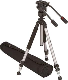 AmazonBasics - Trípode para cámara de vídeo de 170 cm con bolsa