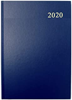 Collins Essential A4 Day to Page 2020 Diary - Blue