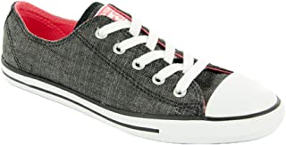CT Dainty Ox Black White Womens Trainers 6 US