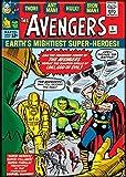 Ata-Boy Marvel Comics Avengers No. 1 2.5' x 3.5' Magnet for Refrigerators and Lockers