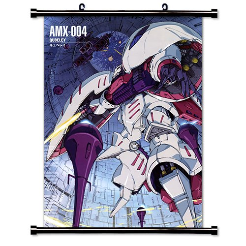 Mobile Suit Zeta Gundam Anime Fabric Wall Scroll Poster (32