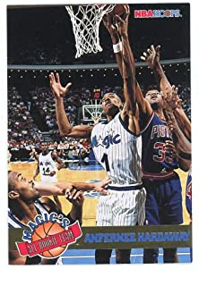 1993-94 Hoops Magic's Alll Rookie 3 Anfernee Hardaway Rookie Card