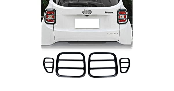 ELONN Jeep Renegade Tail Lights Covers Guand Trim Lighting Assemblies Accessories
