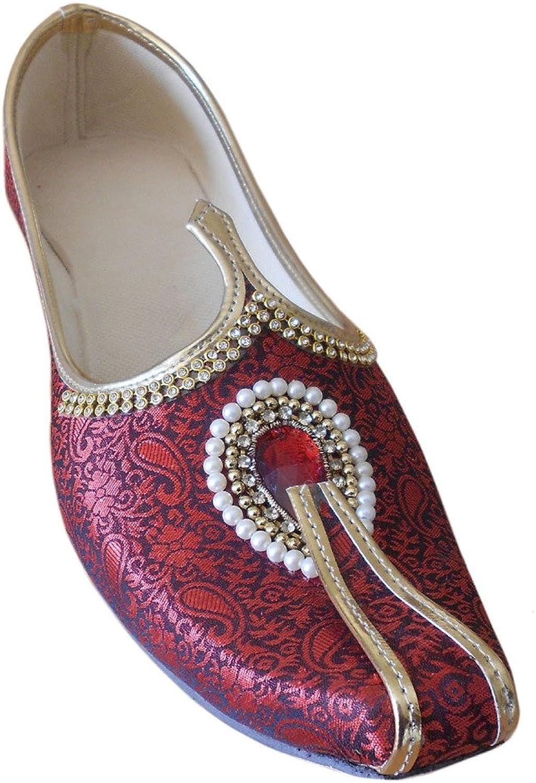 Kalra Creations Men's Traditional Indian Mojari Groom shoes
