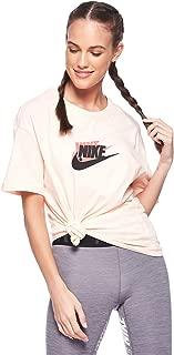 Nike Women's BOY FUTURA T-Shirt, Multicolour , Large (NKAR5332-664)