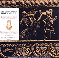 Hoffmann: Musique De Chambre by Marielle Nordmann & M. Joste (2010-06-03)
