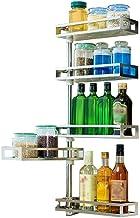 Multifunctional Kitchen Storage Rack Storage Shelf 304 Stainless Steel Kitchen Shelf Multifunction Wall-Mounted Multilayer...