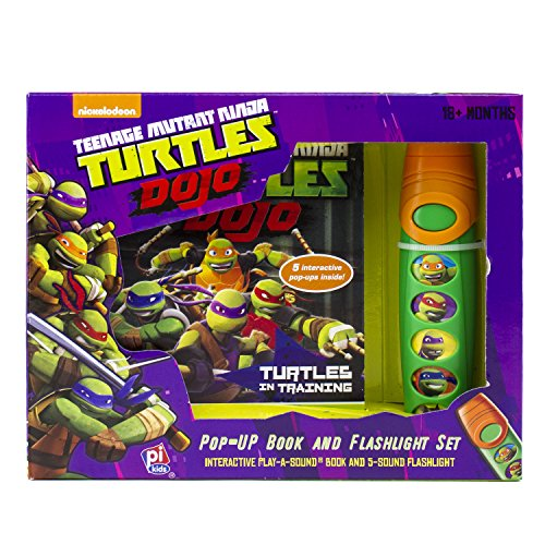 Product Image of the Nickelodeon Teenage Mutant Ninja Turtles - Turtles in Training Sound Book and...
