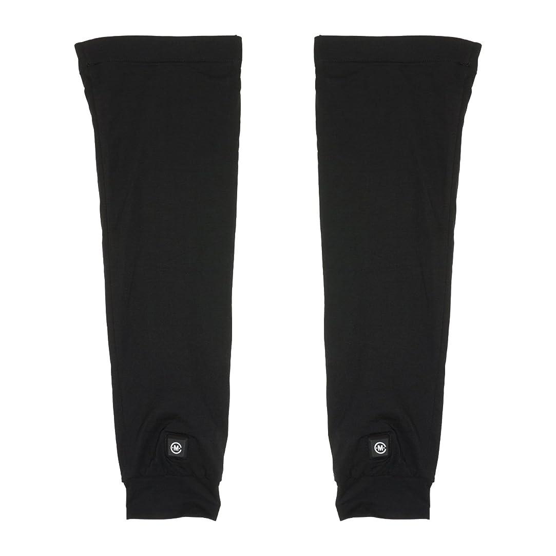 再編成する促す控えるめちゃヒート 脚を温める 充電式電熱 レッグウォーマー [男女兼用 フリーサイズ 連続4時間使用] 防寒 保温 冷え性 冷え症 対策 バッテリー駆動 メンズ レディース