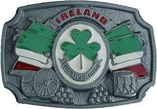 fighting irish belt buckle