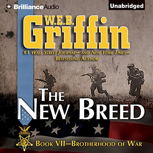 The New Breed audiobook cover art