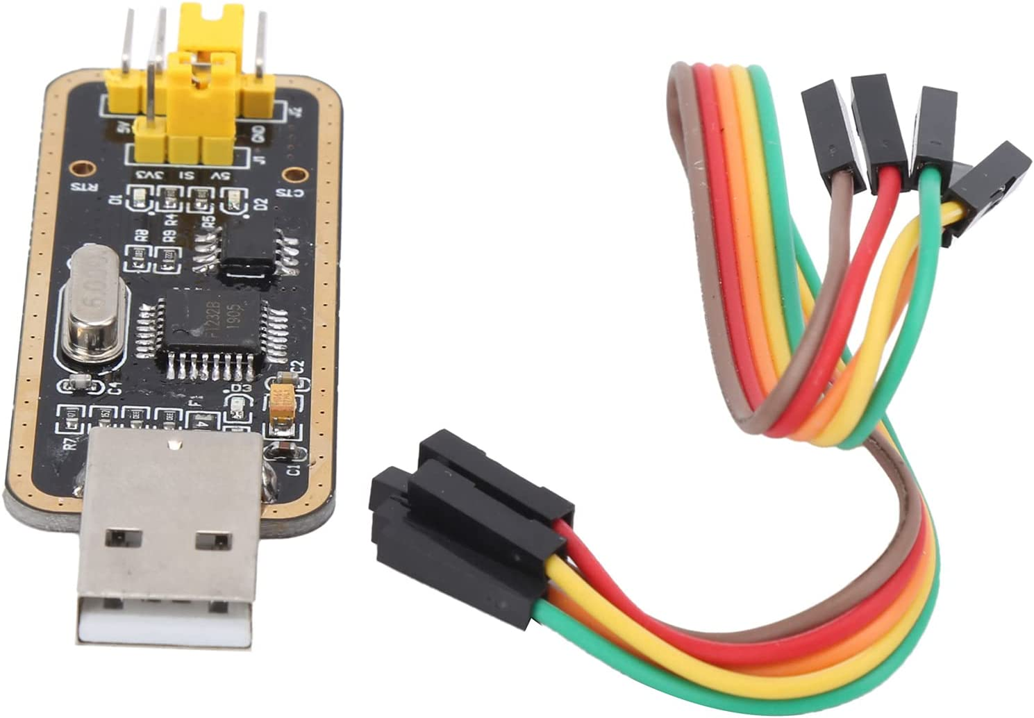 USB Don't miss the campaign to TTL Adapter Module Resin Board Download Upgrade Flash FT Spring new work one after another