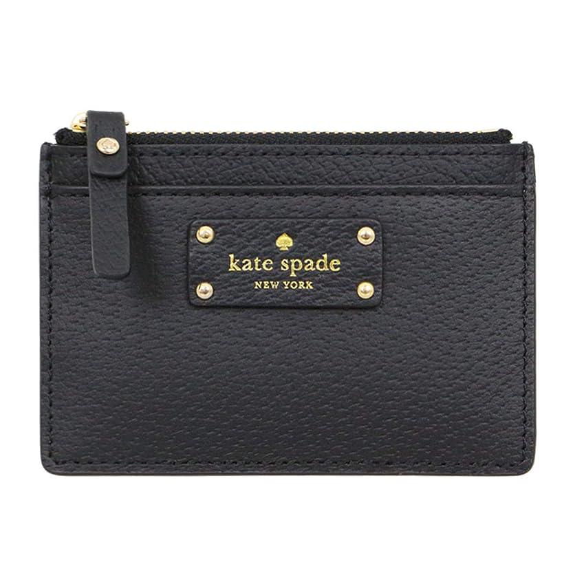 穿孔する強制大通り[ケイトスペード] kate spade 財布 (コインケース) WLRU2811 ブラック black(001) レザー コインケース レディース [アウトレット品] [ブランド] [並行輸入品]