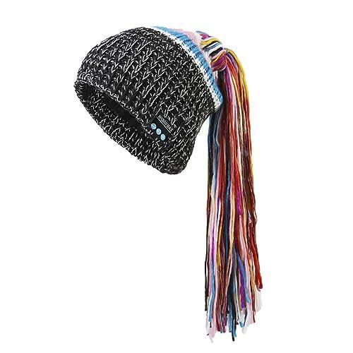 1fc988d9070 BTFBM Warm Soft Winter Outdoor Wireless Music Hat Earphone Speakers   Mic  for Man Woman