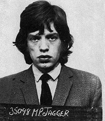 Mick Jagger Tasse Shot The Rolling Stones 27,9 x 35,6 cm Fotodruck