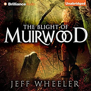 The Blight of Muirwood audiobook cover art