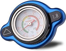 Summit High Pressure Radiator Cap with Temperature Gauge - 1.8 kg (1.8 Bar, 25.6psi), Fits select BETA, HUSABERG, HUSQVARNA, and KTM Models