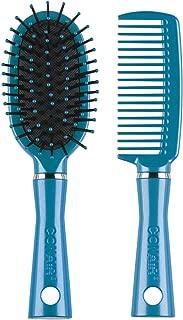 Conair Fusion Hair Brush and Comb, Cushion, Mid-Size, Colors May Vary