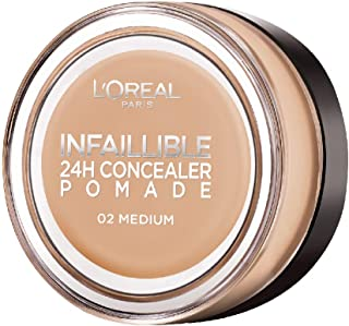 L'Oreal Paris Infallible Concealer Pomade, 15 g, 02 Medium