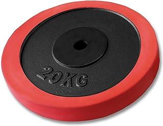 FIELDOOR ブラック ダンベル ラバーリング付 標準シャフト径28mm ハードロックカラー ゆるまないカラー標準装備