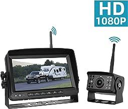 Wireless Backup Camera for Trucks Rv Trailer Camper, Digital Rear View Backup Camera System and Monitor Kit 7 inch, Pickup Reverse Camera IP69 Night Vision