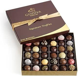 Godiva Chocolatier Assorted Signature Chocolate Truffles, Great for Gifts, Chocolate Lover's, Birthday Gift, Gourmet Chocolates, 36 pc