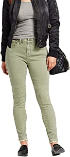 Mossimo Women's Mid Rise Curvy Skinny Power Stretch Jeans - Green -