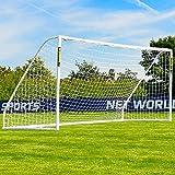 FORZA Match But de Football PVC avec Filet (Large Gamme de Tailles) (5m x 2m)