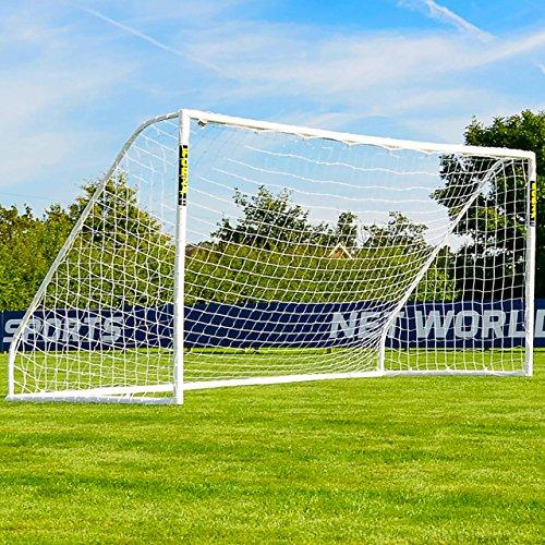 16ft x 7ft FORZA Soccer Goal & Net - The Largest Portable Soccer Goal Available! [Net World Sports] (Goal & Carry Bag & Target Sheet & Soccer Ball)
