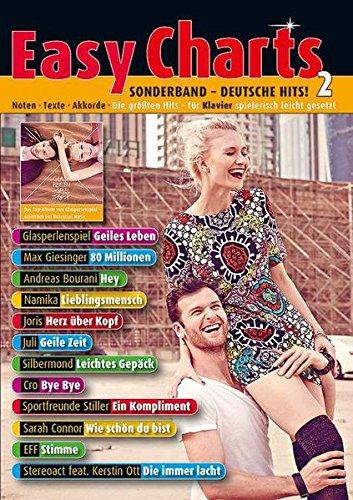 Easy Charts Sonderband: Deutsche Hits! 2: Die größten Hits spielerisch leicht gesetzt. Sonderband 2. Klavier / Keyboard. Spielbuch. (Music Factory)