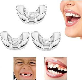 Dental Orthodontic Braces,123 Stage Set of Three, Teeth Straightening Orthodontic Retainer Braces, for Adults Teeth Straightening Smooth