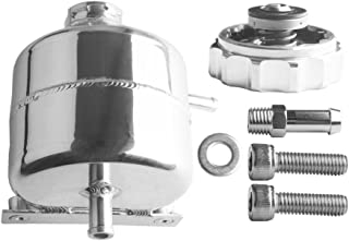 Dewhel Oil Catch Can Coolant Tank Reservoir Bottle Polished Aluminum For 02-06 MINI Cooper S 05-08 S convertible R52 R53