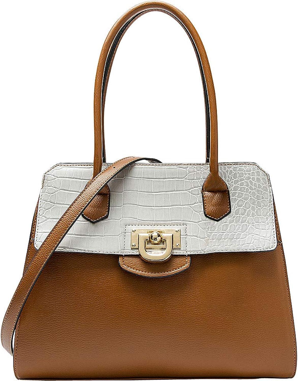 MKF Collection Lady B Classy Satchel Handbag by Mia K Farrow