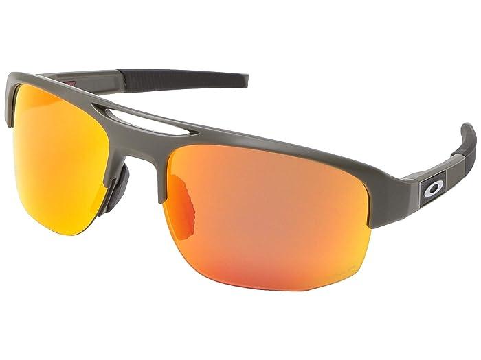 Oakley Mercenary (Matte Olive w/ PRIZM Ruby Polarized) Fashion Sunglasses