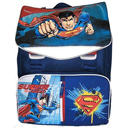 Zaino Estensibile Multifunzione C/Cuffie Superman