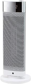 コイズミ セラミックファンヒーター 人感センサー付き 室温センサー付き グレー KPH-1080/H