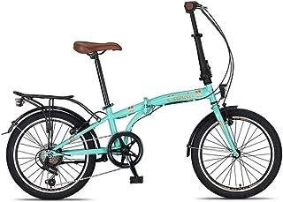 TTLOVE 20 Zoll leichtes Mini-Fahrrad praktisches Klappfahrrad perfekt f/ür die Stadt ,V-Brake Klapprad Faltrad Mountainbikes Leichte Sto/ßd/ämpfung Geschwindigkeit Klappfahrrad Folding Bike