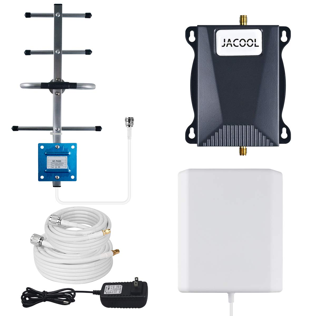 AT&T Signal Booster 4G LTE Cell Phone Signal Booster 700MHz Band 12/17 ATT T-Mobile Cellphone Booster Amplifier Repeater for Home and Office Use - Say Goodbye to Poor Signal
