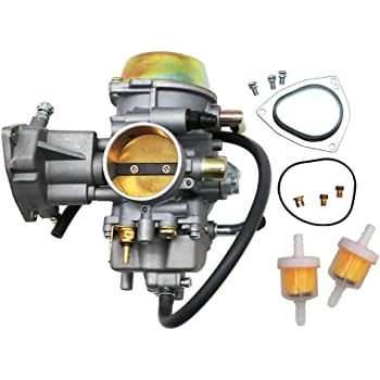 [DIAGRAM_0HG]  Amazon.com: KIPA Carburetor For Yamaha RHINO 660 YFM660 YXR660FA YXR660FSE  YXR660FH YXR660 Hunter UTV ATV 2004 2005 2006 2007 Replace OEM part number  5KM-14901-00-00 2Pcs New Main jets & 2Pcs Fuel Filters: Automotive | 2004 Rhino Fuel Filter |  | Amazon.com