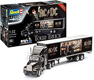 Revell- Set de Regalo AC/DC Tour Truck Rock Or Bust Camionetas ACDC Kit Modelo, Multicolor (07453)