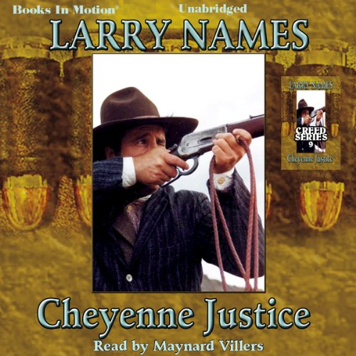 Cheyenne Justice audiobook cover art