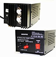 Audiotek - Output 16A Amp Mobile 13.8 Volt DC Power Supply AT-PS16